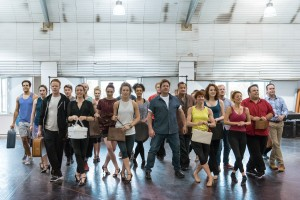 Chichester Festival Theatre production of Mack and Mabel. Michael Ball and Company in rehearsals. Photo by Manuel Harlan. REH-5